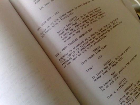 how to write a film script dialogue