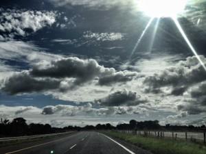 sun road photo