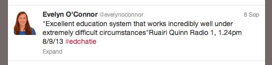 Ruairi Tweet